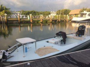 17.8 Hells Bay Whipray Pro islamorada charter boat